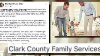 Las Vegas radio host sparks controversy over same-sex couple adoptions post - Video