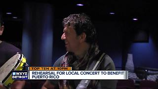 Local concert with Sean Blackman to benefit Puerto Rico after hurricanes - Video