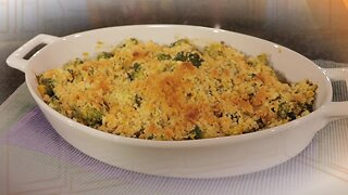 What's for Dinner? - Broccoli-Corn Casserole