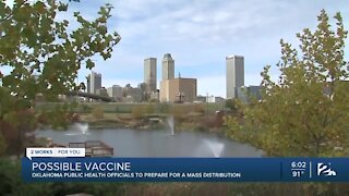 Oklahoma prepares for possible mass distribution of COVID-19 vaccine