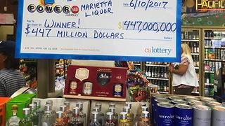 1 winning Powerball ticket sold in California worth $447M - Video