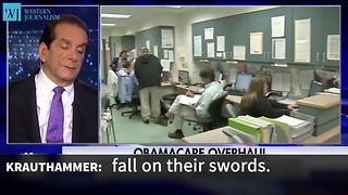 Krauthammer Predicts Conservatives Will Lose War Over Obamacare Entitlement - Video