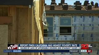 California poverty rate