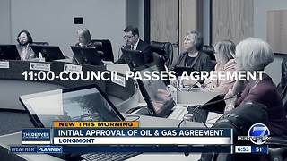 Longmont City Council moves forward on deal with oil companies - Video