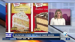 Duncan Hines cake mixes recalled for possible salmonella
