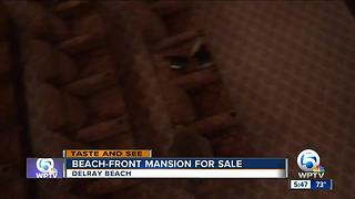 See inside a Delray mansion going up for auction with a minimum bid of $17 million - Video