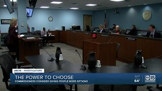 Commissioners considering giving people ability to choose power companies