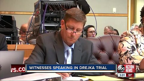 Witnesses take stand in Michael Drejka manslaughter trial