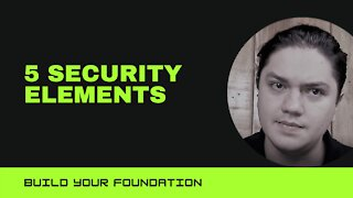 2. 5 Security Elements