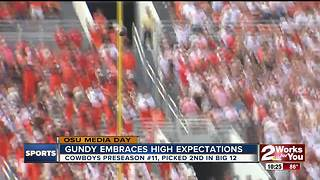 Mike Gundy embraces high expectations for 2017 Cowboys - Video