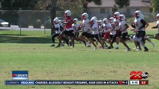 BC Renegades hit the practice field ahead of 2019 season