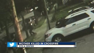 Mother of two killed in crossfire on Milwaukee's north side