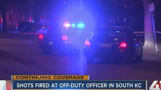 Shots fired at off-duty officer in south KC - Video