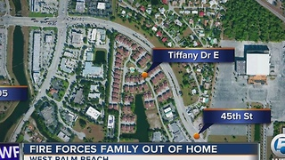 3 residents displaced by Christmas Day fire in West Palm Beach - Video