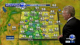String of 90s for the Denver area as heat builds in Colorado