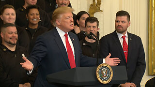 Trump Celebrates Outcome of Mueller Report at Event to Honor Wounded Warriors