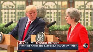 Special Report | President Trump holds joint press conference with U.K. Prime Minister Theresa Way - Video
