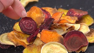 Root Veggie Chips - Video