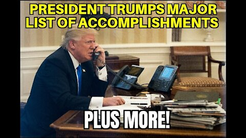 President Trumps Major List of 1st Term Accomplishments