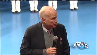 Sen. McCain presented with Outstanding Civilian Service Medal - Video