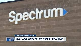 NYS pursuing legal action against Spectrum - Video