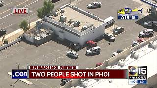 Two seriously hurt after shooting in west Phoenix - Video