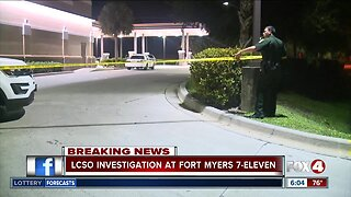 Investigation at Fort Myers convenience store early Tuesday morning