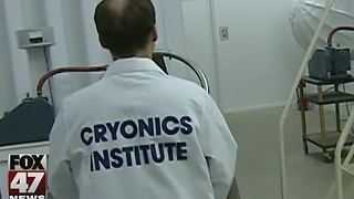 Cancer teen frozen at Cryonics Institute - Video
