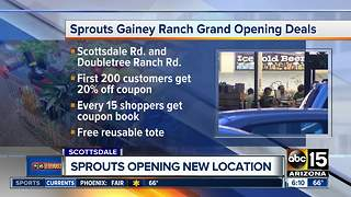 Sprouts celebrates grand opening with coupons