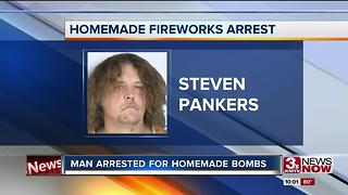 Neighbors react to man arrested for homemade pipebomb - Video
