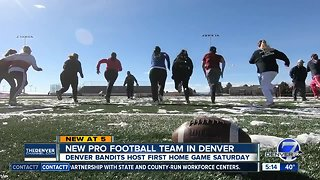 New women's professional football league launches with 16 teams, including one in Denver