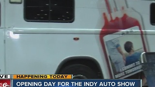 The Indianapolis Auto Show opens Monday - Video