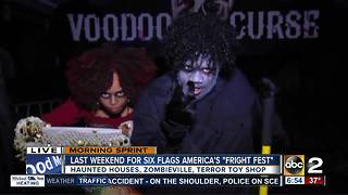 Fright Fest wrapping up at Six Flags America - Video