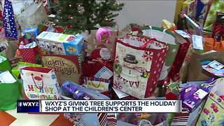 WXYZ'S Giving Tree supports The Holiday Shop at The Children's Center - Video