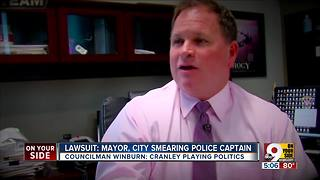 Cincinnati police captain adds Mayor John Cranley to lawsuit against city manager - Video