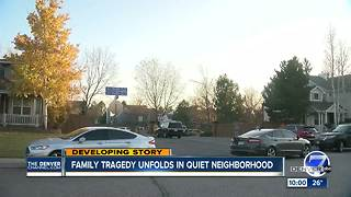 Family dispute at Arapahoe County home leaves 1 woman dead, another wounded - Video