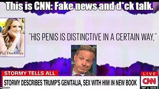 CNN devotes entire segment to President Trump's penis