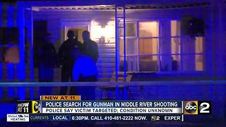 One person shot in Middle River shooting - Video