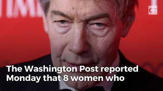 Charlie Rose Suspended After Sexual Misconduct Allegations - Video