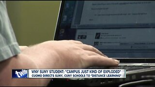 Gov. Cuomo directs SUNY, CUNY schools to 'distance-learning'