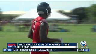 McNeal joins FAU football team - Video