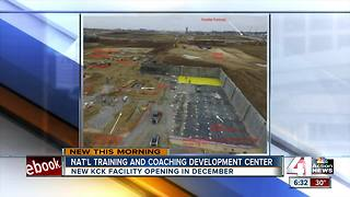 National soccer training center to open in Kansas City, Kansas - Video