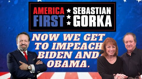 Now we get to impeach Biden and Obama. Joe DiGenova and Victoria Toensing on AMERICA First