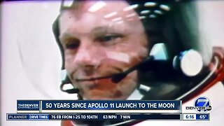 Fifty years since Apollo 11 launch to the moon