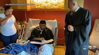 Local teen battling cancer becomes first in family to graduate high school