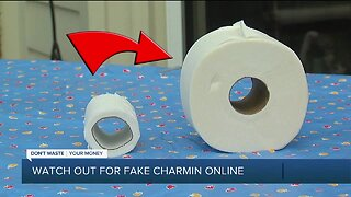 Watch out for fake Charmin online