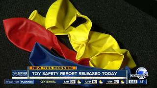 Toy safety report