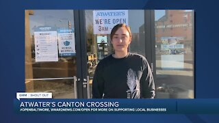 "Atwater's Canton Crossing says ""We're Open Baltimore!"""