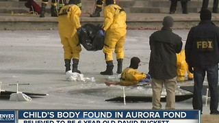 Body found in search for missing 6-year-old David Puckett in Aurora - Video