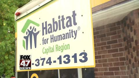 Lansing police search for person who stole tools from Habitat for Humanity